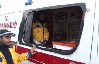 Pendik'te saldırıya uğrayan sağlık görevlileri o anı anlattı