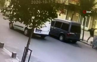 Pişkin hırsızlar, kendisini uyaran vatandaşa taş fırlattı