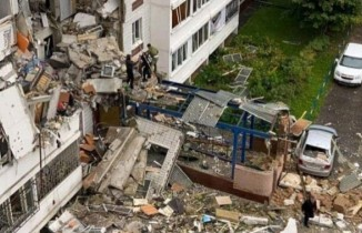 Rusya'da 9 katlı binada doğal gaz patlaması: 2 ölü, 8 yaralı