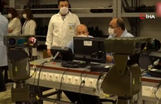 Şahingözü-OD Termal Kameraların ilk teslimatları JGK'ya yapıldı
