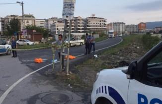 Sultanbeyli'de feci kaza