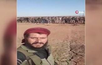 Suriye Milli Ordusu askerleri, Mümbiç sınırında namaz kıldı