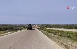 TSK M4 kara yolunda devriye gerçekleştirdi