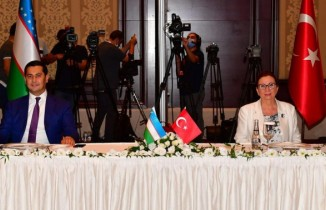 """""""Türkiye OECD ve G20 ülkeleri arasında en hızlı büyüyen ülke konumundadır"""""""