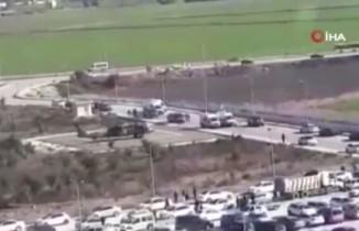 Yaralı askerler helikopterle getirildi