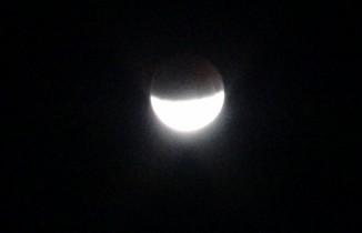 Yüksekova'da ''Parçalı Ay Tutulması'' Görüntülendi
