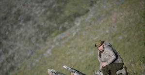 Putin Sibirya dağlarında