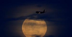 Dünyadan muhteşem Kanlı Ay görüntüleri