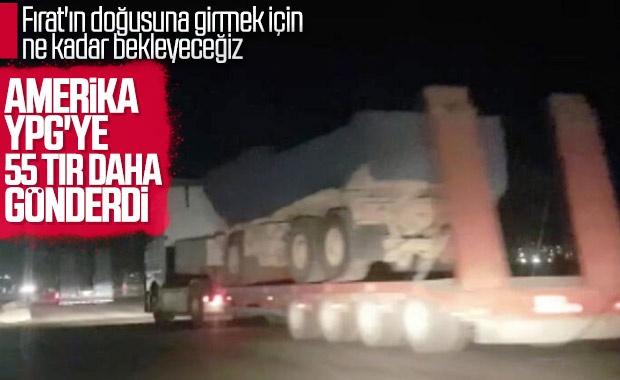 Bir yandan Türkiye ile güvenli bölge çalışmaları yürüten ABD, diğer taraftan YPG'ye destek olmaya devam ediyor.