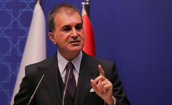 """AK Parti Sözcüsü Çelik: """"Diplomasi tarihine bir yakışıksızlık örneği olarak girecektir"""""""