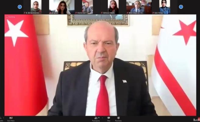 Cumhurbaşkanı Tatar'dan Anastasiadis'in yüzüne Cenevre'de tokat gibi cevap