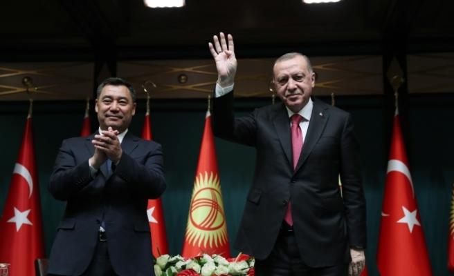 """""""FETÖ'nün her iki ülke için tehdit oluşturduğu konusunda Kırgızistan ile hemfikiriz"""""""