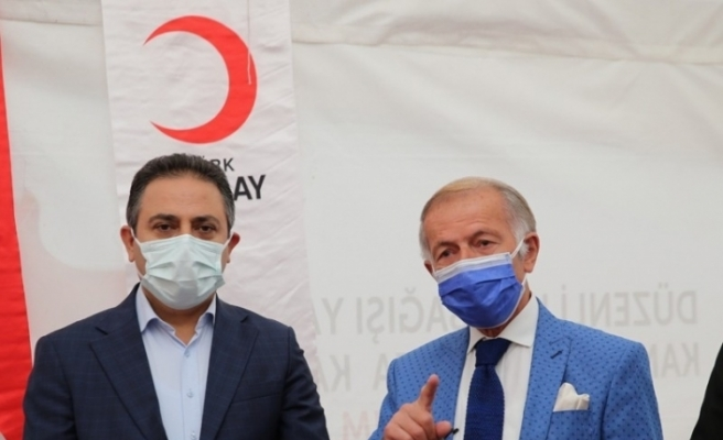 Üç gün süreli kan bağışı kampanyası