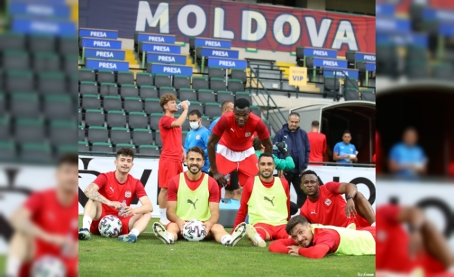 Sivasspor Petrocub maçına hazır
