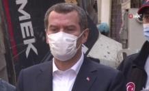 """Zeytinburnu Belediye Başkanı Arısoy, """"Normalde pazar kurulacaktı"""""""