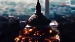 İran devlet televizyonu, ABD kongre binasının havaya uçurulduğu propaganda videosu yayınladı