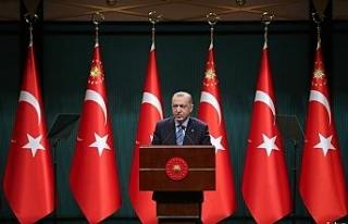 Cumhurbaşkanı Erdoğan'dan ABD Başkanı Biden...