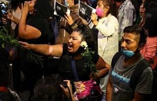 """Meksika'da metro kazası protesto edildi: """"Kaza..."""