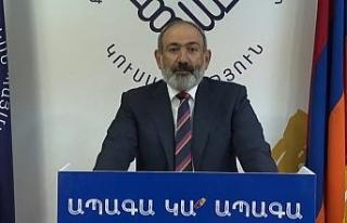 Ermenistan'da, Nikol Paşinyan'dan gece yarısı...