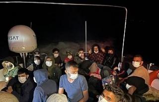 Göçmenlerin imdadına Türk askeri yetişti
