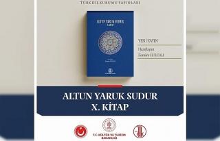 TDK'dan yeni yayın: 'Altun Yaruk Sudur X. Kitap'