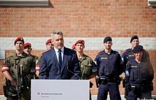 Avusturya'dan düzensiz göçmen akınına karşı...