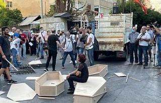 Beyrut Limanı patlamasında yakınlarını kaybeden...