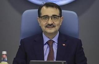 Enerji ve Tabii Kaynaklar Bakanı Fatih Dönmez'den...