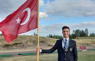 Milli golfçü Can Gürdenli, European Young Masters'dan...