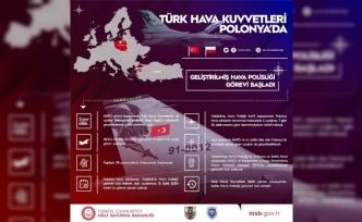 Türk Hava Kuvvetleri, Polonya'da 'Geliştirilmiş Hava Polisliği Görevi'ne başladı