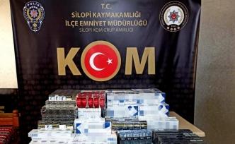 Şırnak'ta kaçakçılık ve asayiş operasyonu: 59 gözaltı