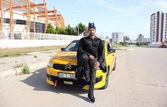Bu da 'Batman' taksici