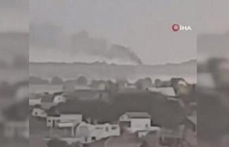 Rusya'da Ulusal Muhafızları taşıyan helikopter düştü: 3 ölü