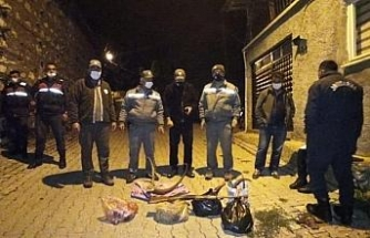 Yaban keçisi avlayanlara 120 bin lira ceza