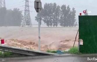 Çin'deki sel felaketinde can kaybı 99'a yükseldi