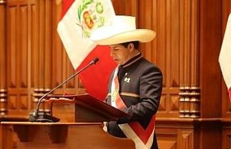 Peru'da Pedro Castillo Devlet Başkanı olarak yemin etti