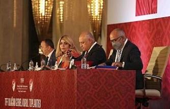 TFF Olağan Genel Kurul Toplantısı'nda 16'ncı madde tekrar gündemde