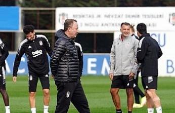 Beşiktaş, Sporting Lizbon hazırlıklarını tamamladı