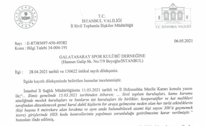 Galatasaray'da hedeflenen seçim tarihi haziran