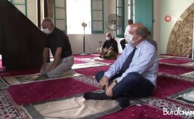Kapalı Maraş'taki Bilal Ağa Mescidinde 47 yıl sonra ilk cuma namazı