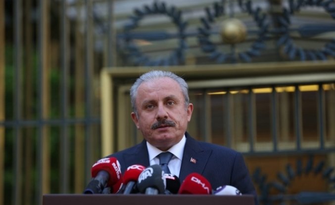 """TBMM Başkanı Şentop'tan """"Erzurum Kongresi'nin 102. yıldönümü"""" mesajı"""