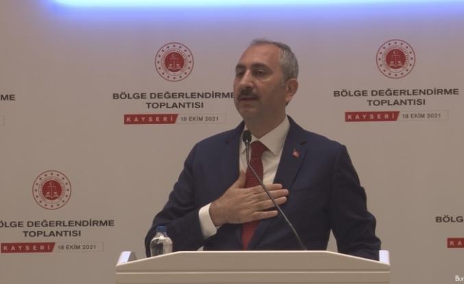 """Adalet Bakanı Gül: """"Yargı; milletin yargısıdır. Yargı; asla el uzatılacak bir yer değildir"""""""