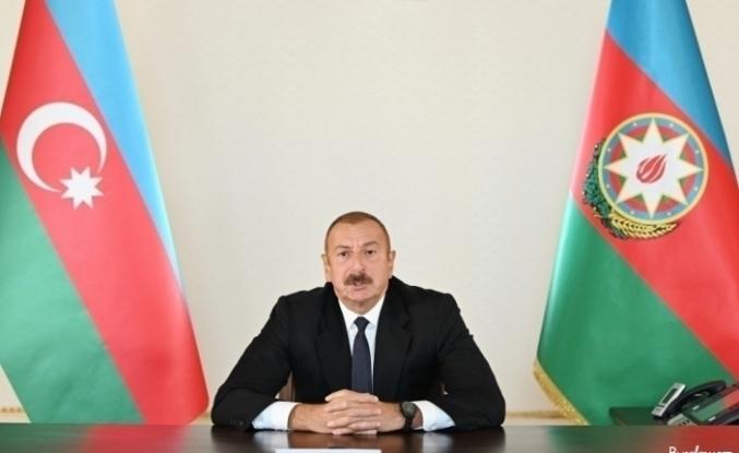"""Azerbaycan Cumhurbaşkanı Aliyev: """"Füzuli'ye gelen herkes Ermeni vahşetini görüyor"""""""