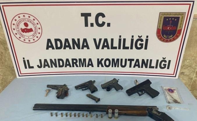 Kozan'da silah ticareti yapan zanlı yakalandı