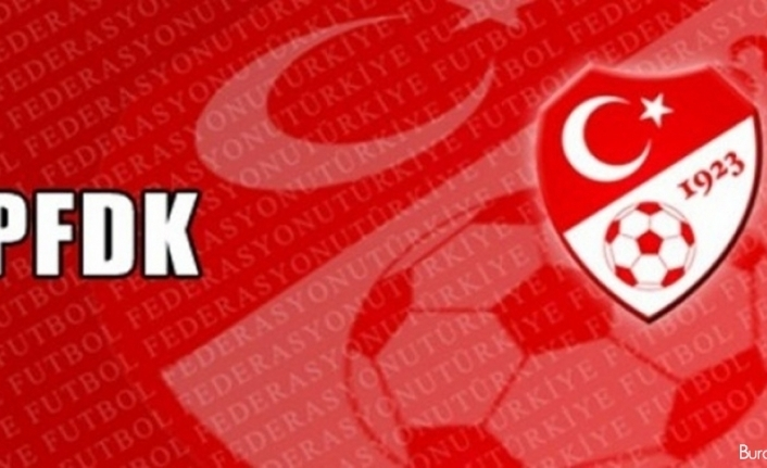 PFDK'dan birçok kulübe ceza