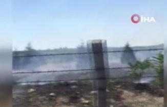 Ankara'da AOÇ arazisinde yangın