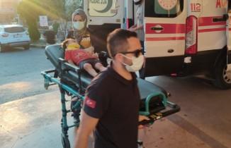 Balkondan düşen çocuğu ölümden marketin tentesi kurtardı
