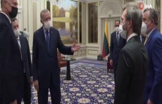 Cumhurbaşkanı Erdoğan Nato zirvesi için Brüksel'de
